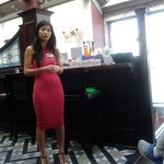 Cecilia Li taking BNI Grand City Fortune members on a Usana product tour
