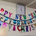 Many holidays to celebrate this season in shimmery signs