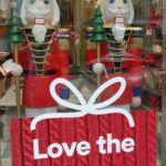 Nutcracker Soldiers stand up for holiday greetings