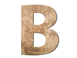 B is fir Business and the 2nd ABC in support of your telling your story in business and in life.